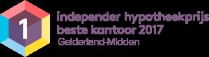 independer hypotheekprijs beste kantoor 2017 - Gelderland-Midden